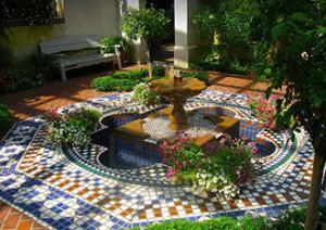 Мавританский стиль в ландшафтном дизайне