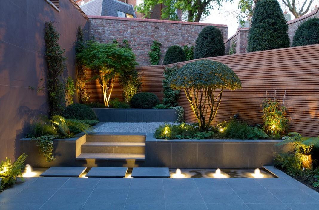 Декоративное освещение ландшафтного дизайна