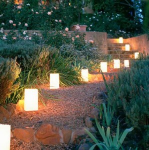Светодиодное освещение в ландшафтном дизайне