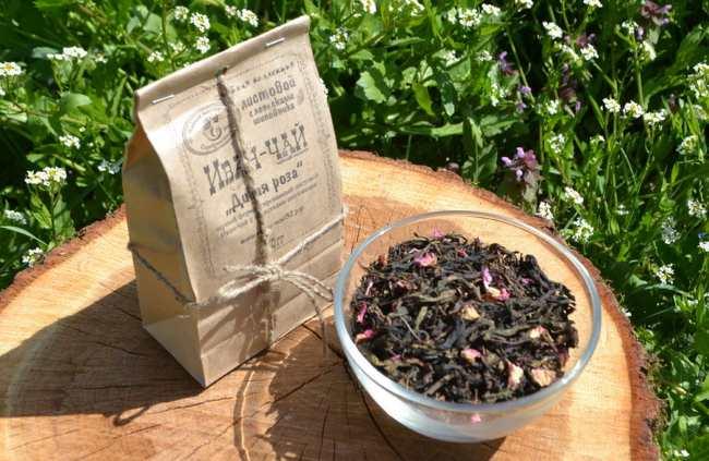 Годовой запас иван-чая