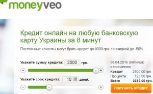 Кредиты онлайн в Украине