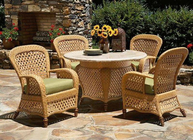 Мебель, используемая сезонно в ландшафтном дизайне