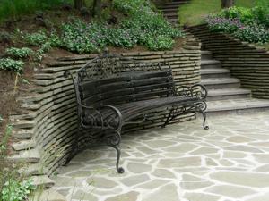 Основные принципы использования мебели в ландшафтном дизайне